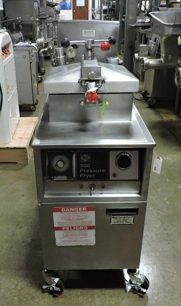 Henny Penny Pfe 500 Commercial Electric Pressure Fryer Hennypenny
