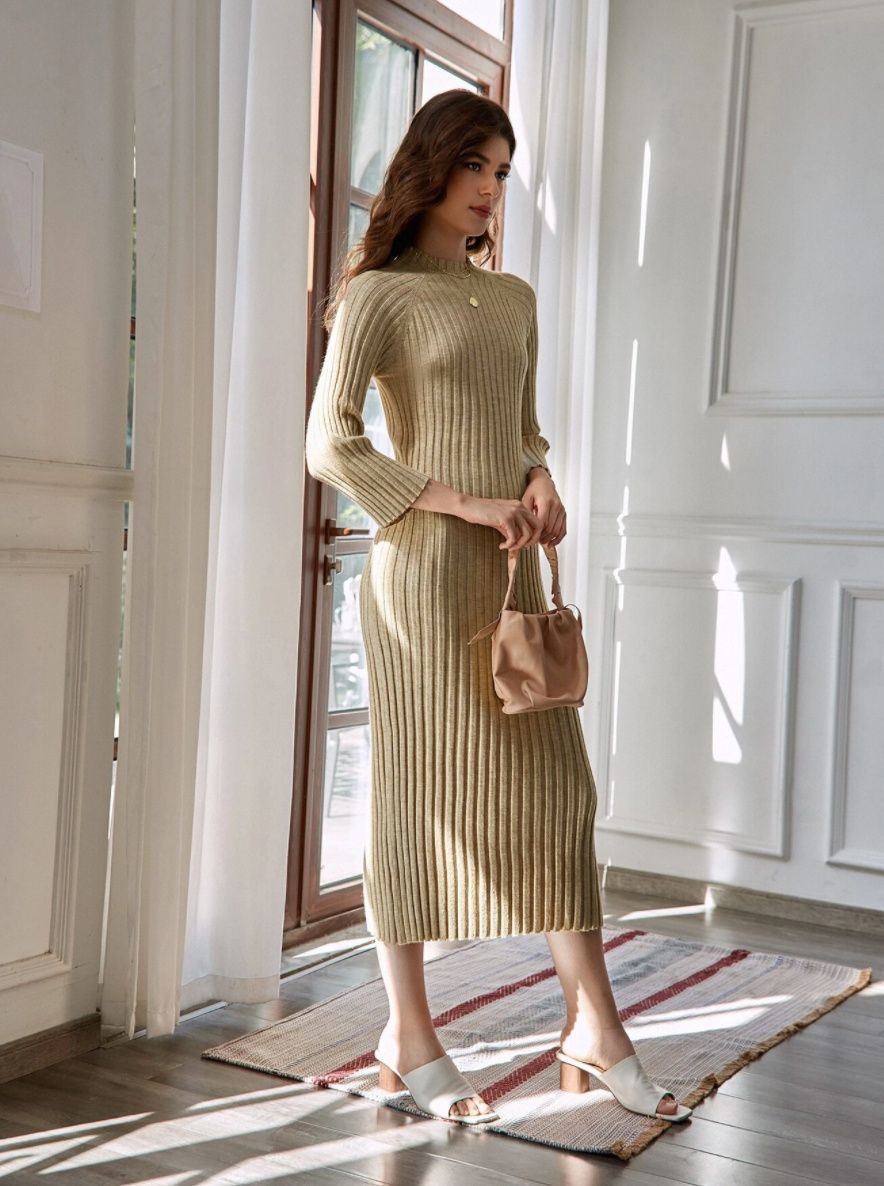 30 Affordable Sweater Dresses To Wear This Season In 2021 Affordable Sweater Sweater Dress Summer Maxi Dress Floral [ 1186 x 884 Pixel ]