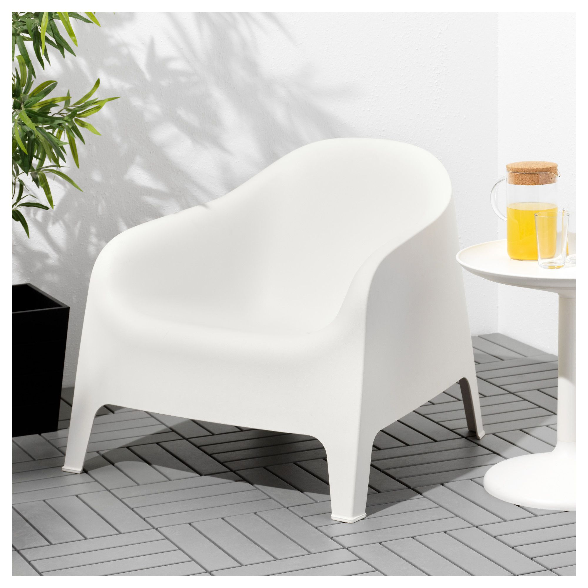 Phenomenal Ikea Skarpo Armchair Outdoor White Outside Art Andrewgaddart Wooden Chair Designs For Living Room Andrewgaddartcom