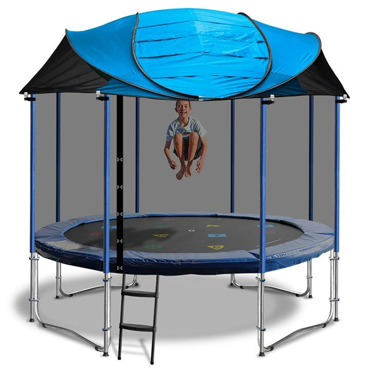 12ft Trampoline Roof For All Your Backyard Toys Visit  Https://www.froggiestrampolines