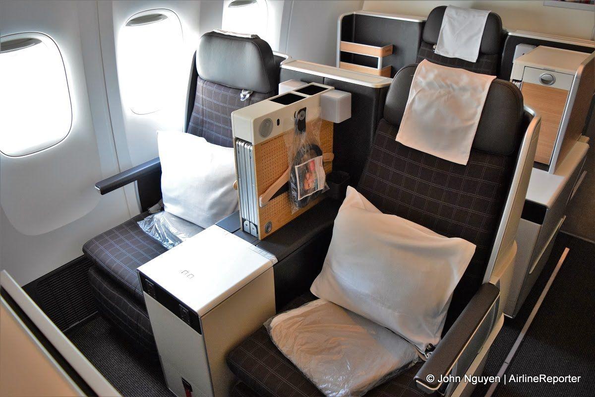 Swiss International Boeing B777300ER business class