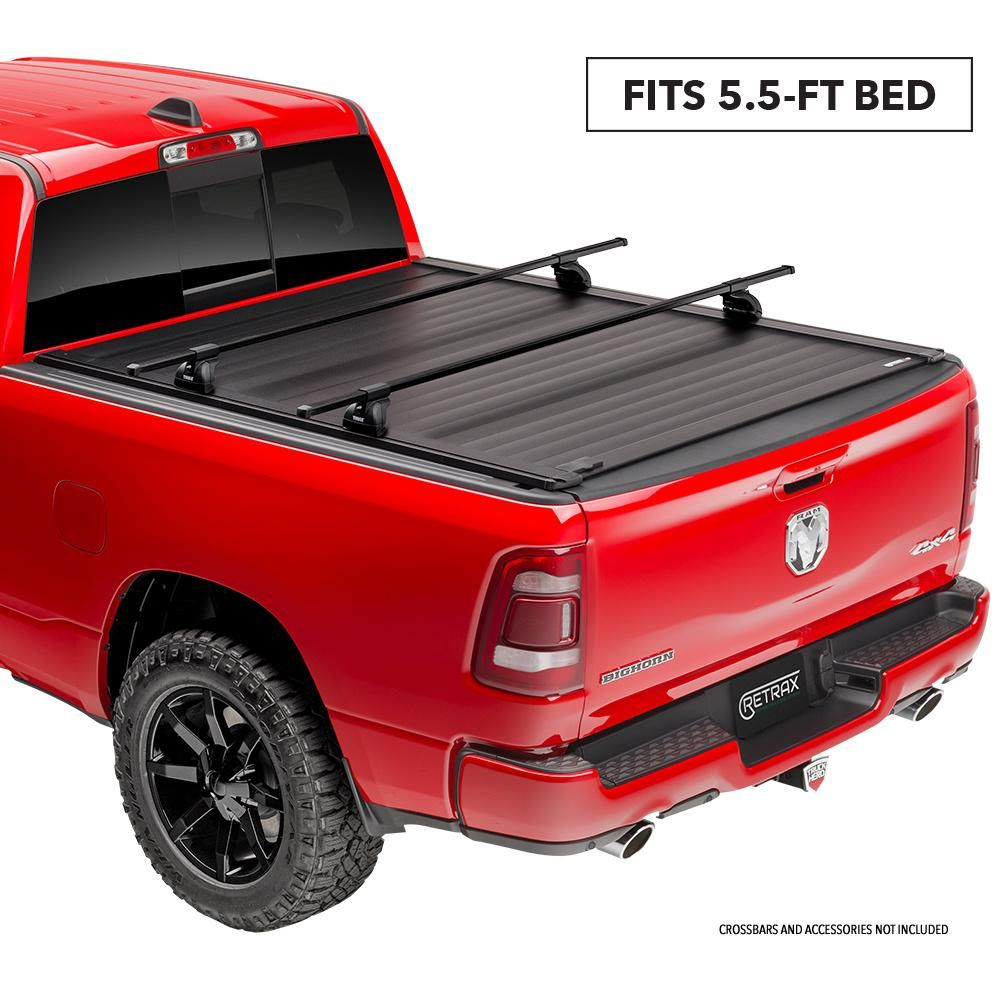 Retrax Pro Xr Tonneau Cover 04 08 Ford F150 Supercrew Supercab 5 6 Bed T 80311 The Home Depot Tonneau Cover Gmc Sierra 1500 Accessories Truck Bed