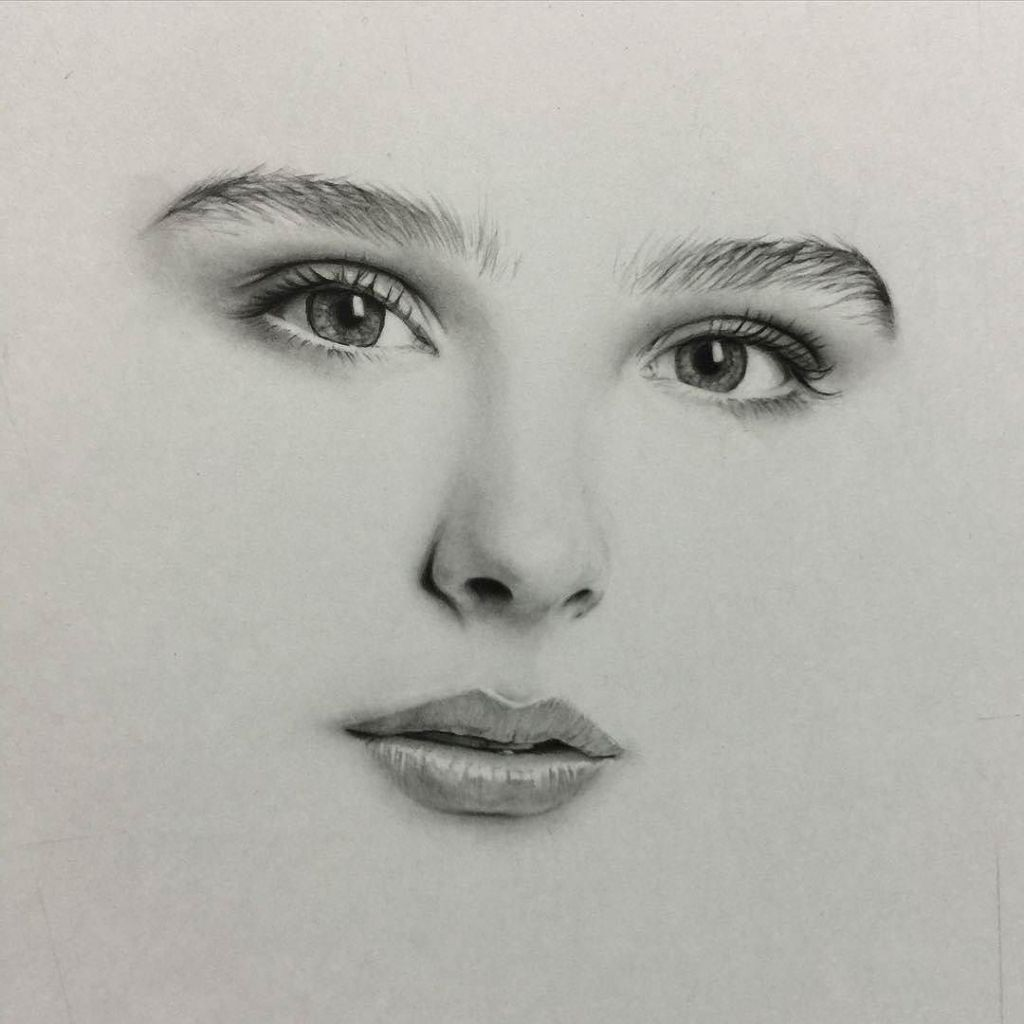 How to draw a real face with pencil how to sketch a real