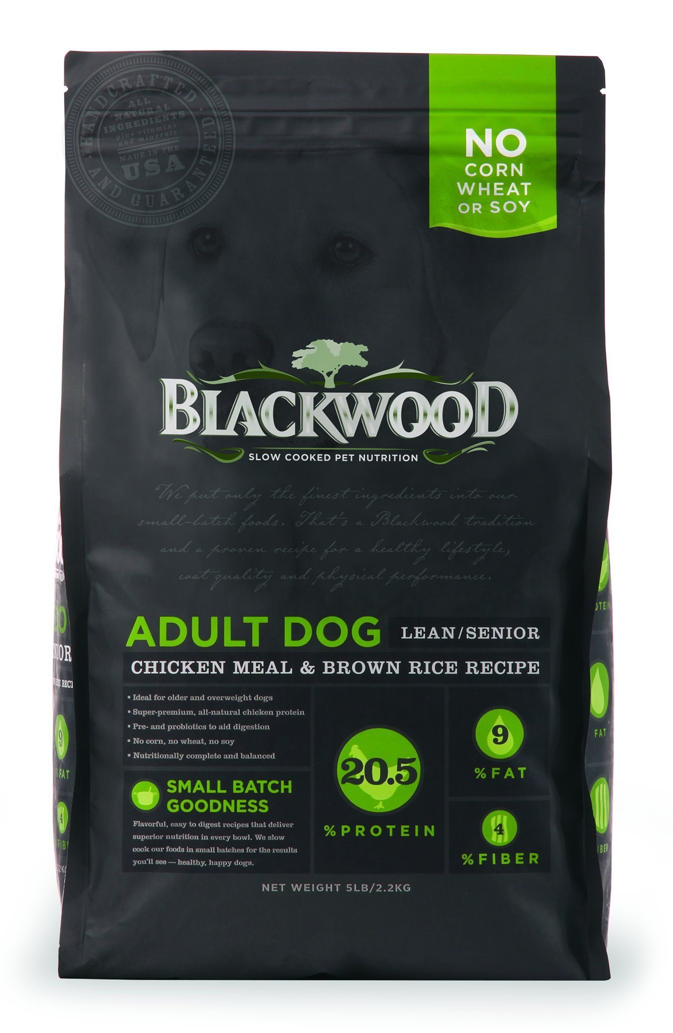 Blackwood Pet Food 22246 Adult Dog Lean Senior Chicken Meal And