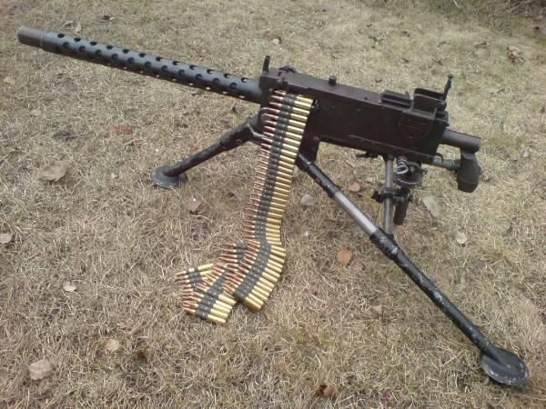 m1919 browning 30 cal medium machine gun has a rate of fire of