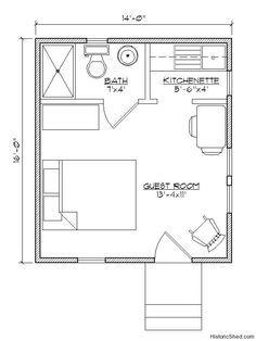 E92b263572e2af97e254e5718aa10ba8 Jpg 236 314 Tiny Guest House House Floor Plans House Flooring
