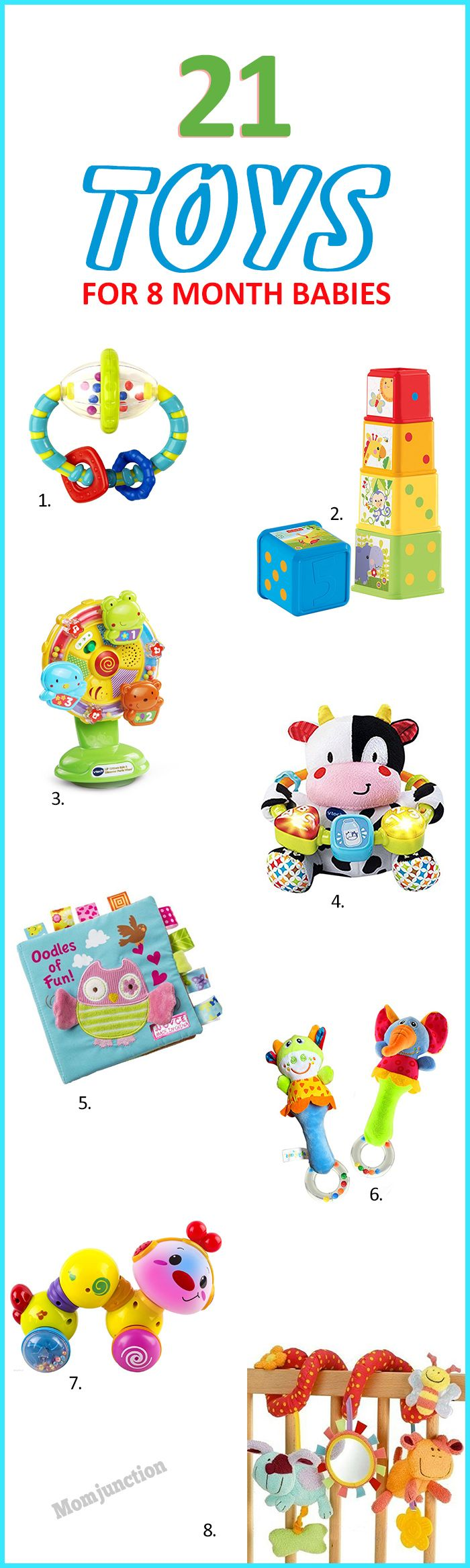 21 Interesting Toys For 8 Month Old Baby Kids Toys Etc
