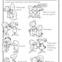Manners and Responsibility  schoolwork grade 1  Pinterest