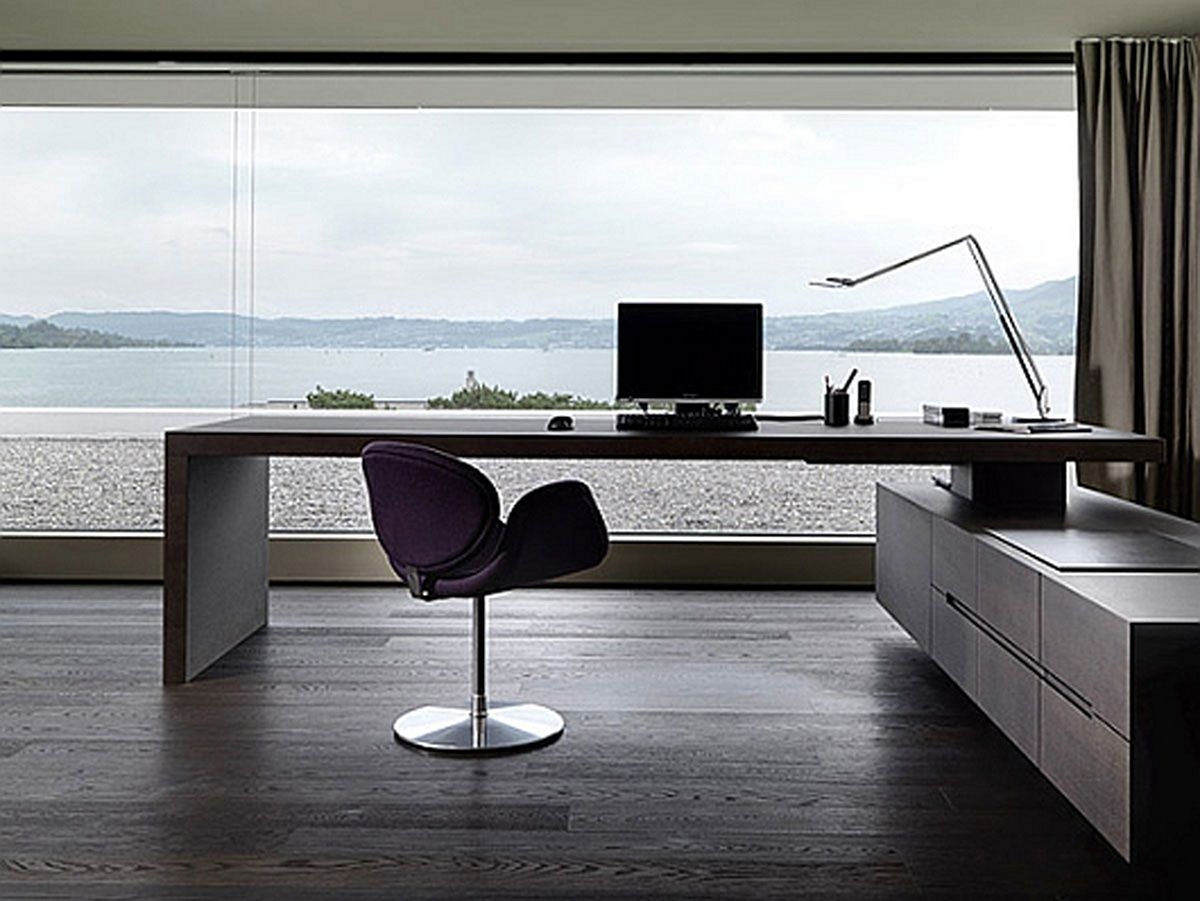 13 Modern Home Office Ideas For Cozy Workspaces Contemporary