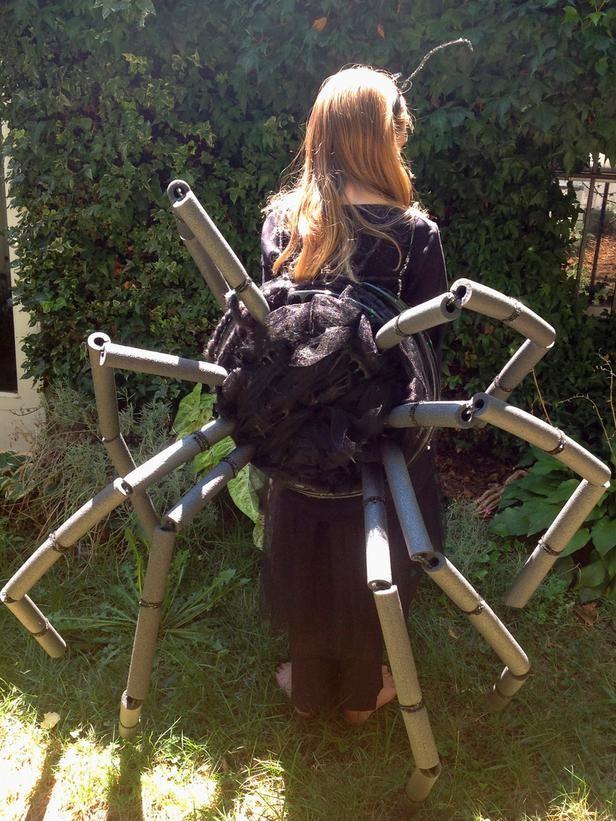 Easy Kids' Halloween Costume: Spider Legs | Spider ...