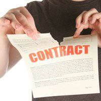 Failure To Perform The Terms Of A Contracts Constitutes Breach Of