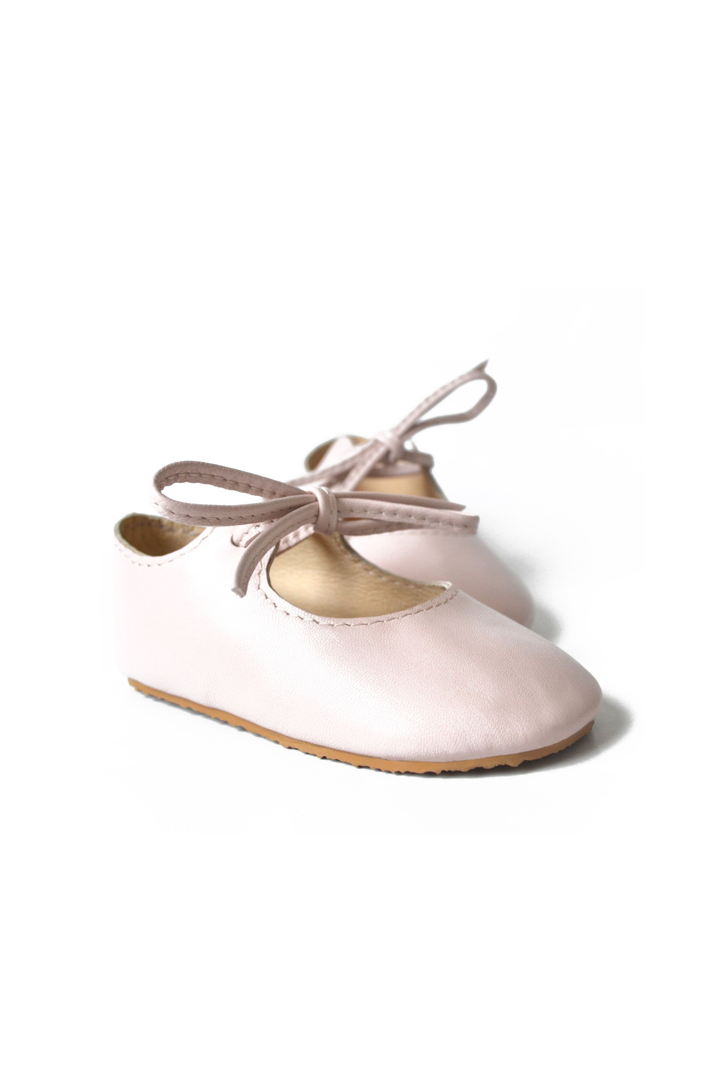 Pink dress shoes for ladies  Light pink baby girl mary janes with rubber soles by MiniMo  I am