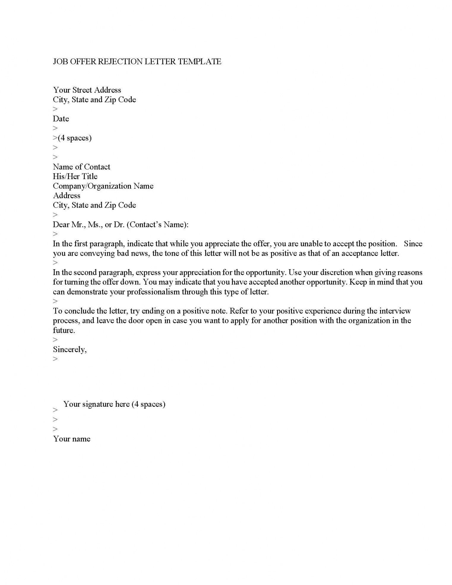 Browse Our Image of Rescind Resignation Letter Template in