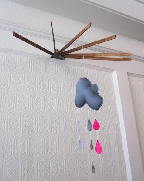 Diy Towel Rail As Wall Mounted Mobile Hanger Remodelista Mobile Hanger Diy Towels Diy Towel Rails