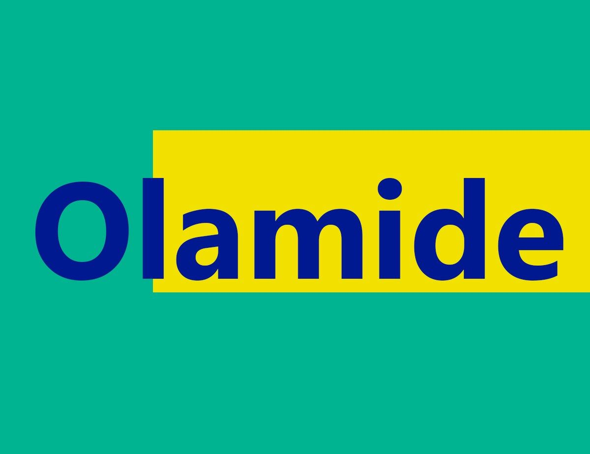 What Is The Meaning Of Olamide In Urdu And Yoruba Languages Yoruba Language Language Meant To Be