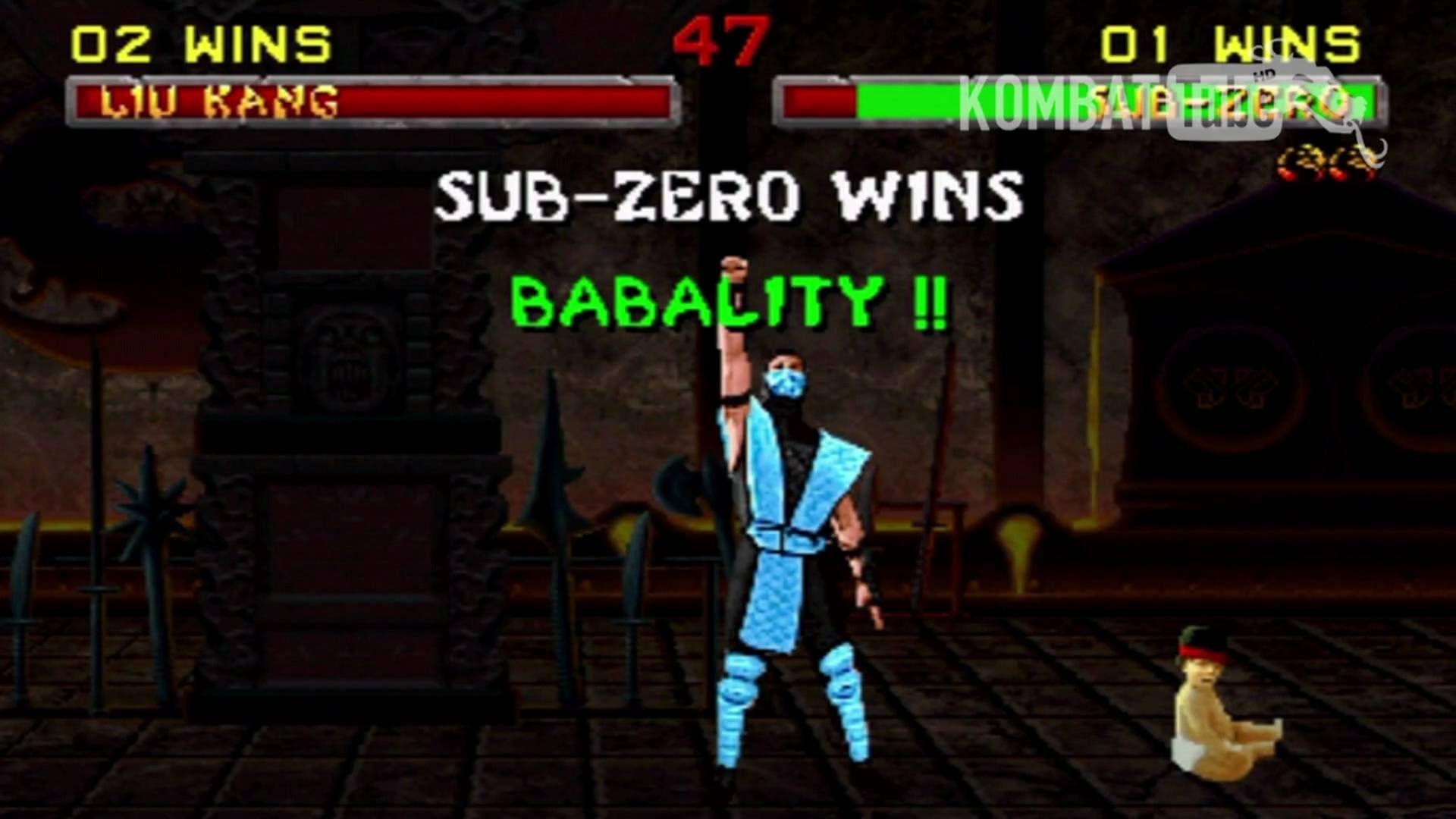 MK II Sub-Zero Babality