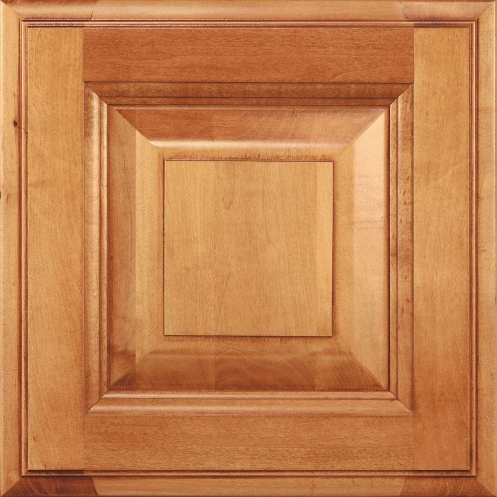 Decora 14 5x14 5 In Cabinet Door Sample In Madison Maple Natural