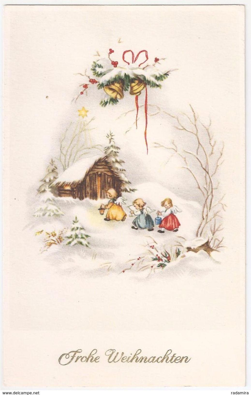 Frohe Weihnachten Aus Deutschland.Frohe Weihnachten Angel Engel Illustrator Artiste