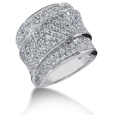 Thick Diamond Wedding Bands For Women