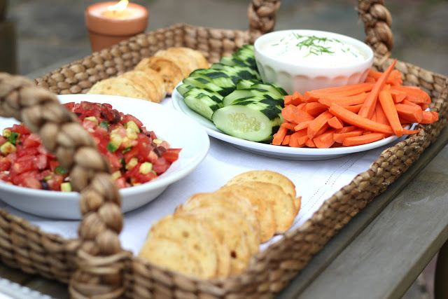 Creamy Crab Rangoon Dip with Vegetables