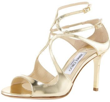 Jimmy choo Ivette criss cross pumps