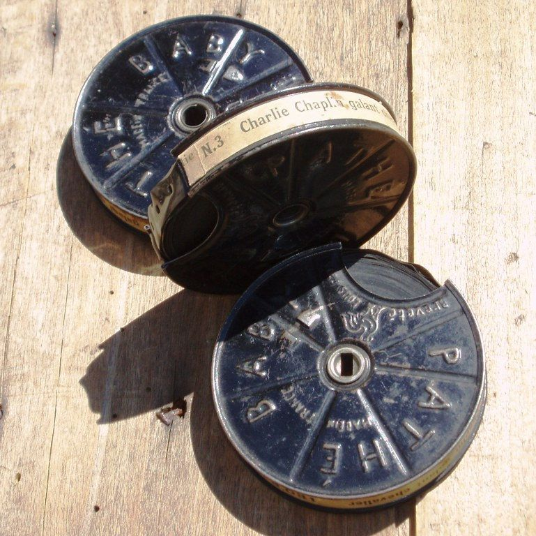 """3 Charlie Chaplin Old Film Reel Collection """"The Vagabond"""