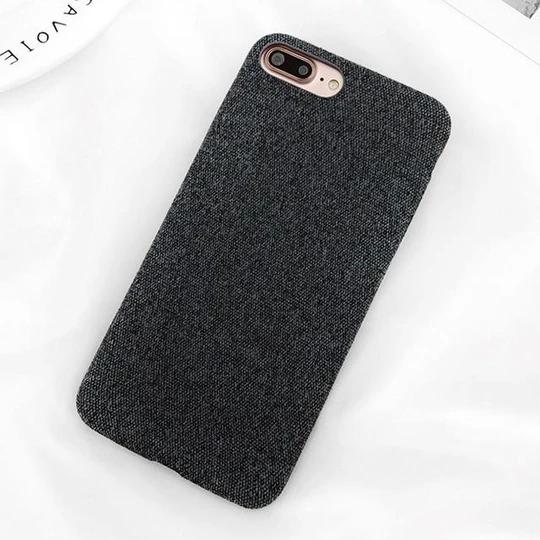 LACK Classic Solid Color Phone Case For iphone 8 Case Retro ...