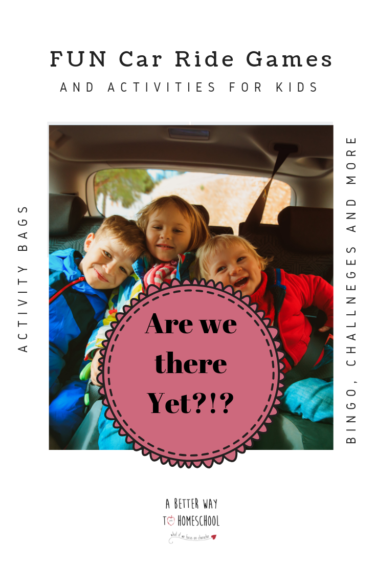 Looking for fun car ride games for your kids to help you enjoy that car trip written on your calendar? Don't worry! This is what you need! Pin now for later! #carridegames #carride #roadtripforkids
