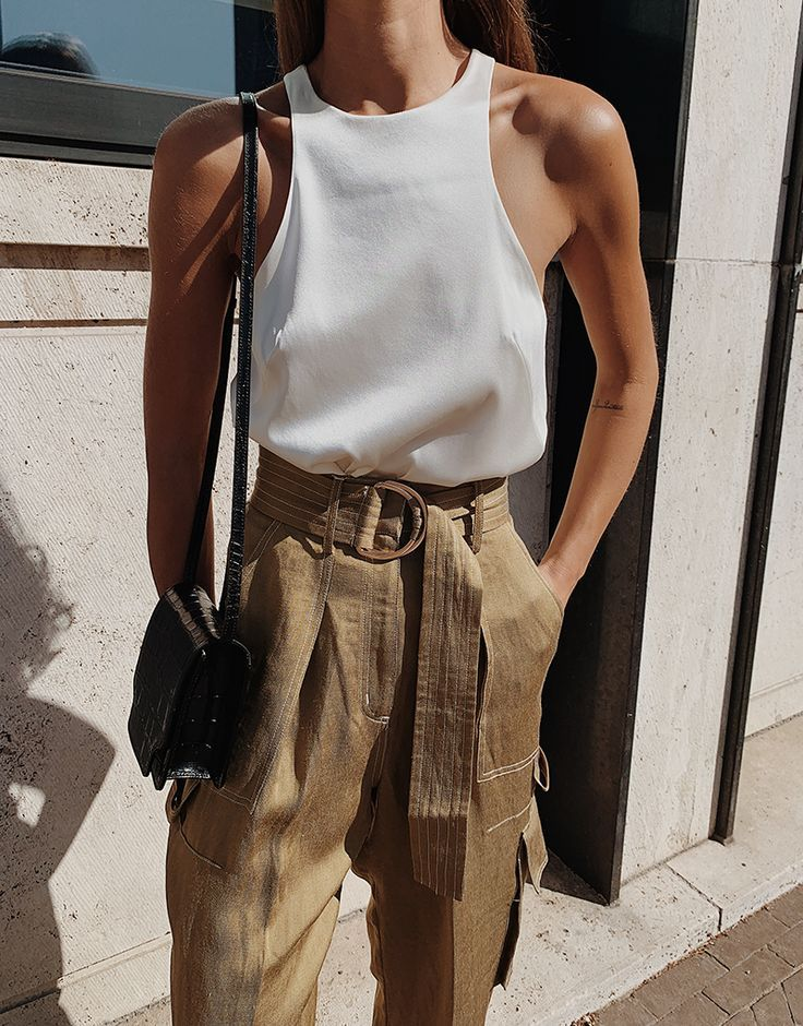 The Cargo Pant — MODEDAMOUR