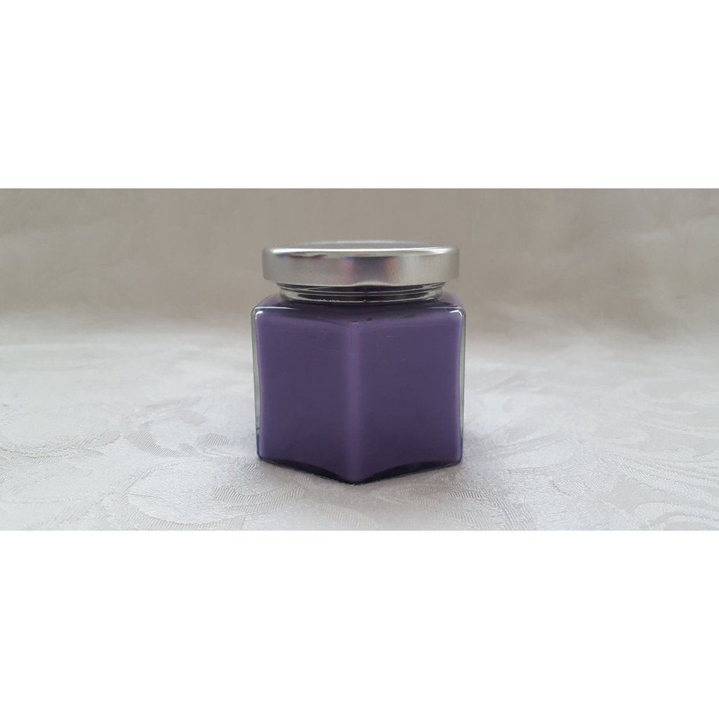 Lavender Candle - 4oz Gift Size Soy Candle Jar - Purple Candle ...