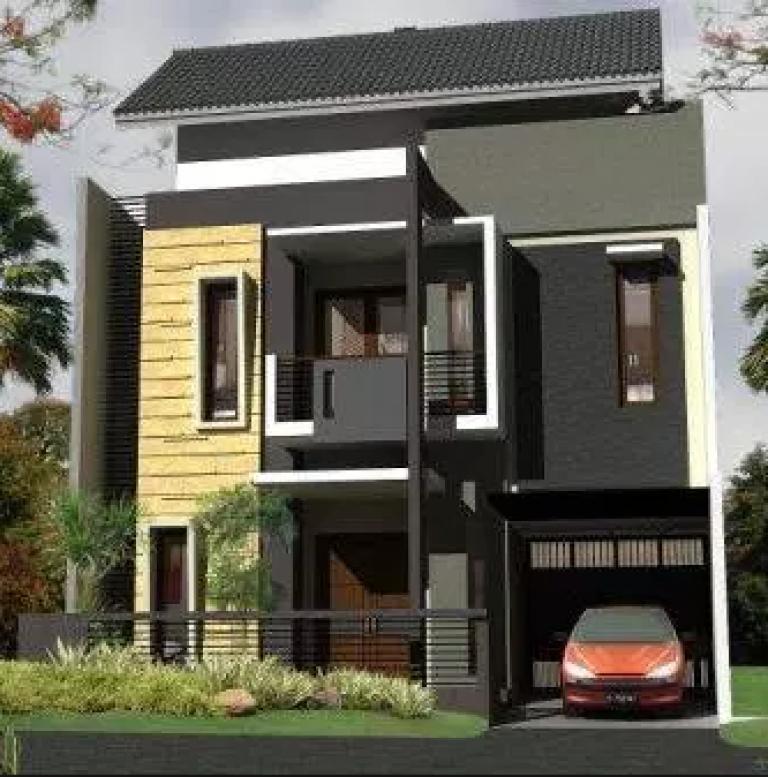 80 Desain Rumah Minimalis 2 Lantai 6x15 Terbaru Rumah Minimalis Rumah Desain Rumah Minimalis