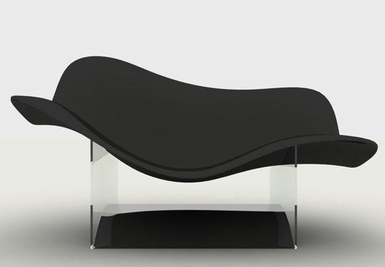 julia chaise lounge by fabio brazil futuristic furniture modern rh pinterest ca