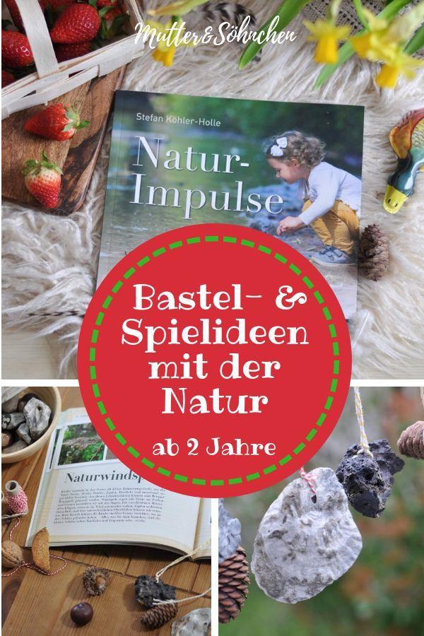 Natur-Impulse - Wir basteln ein Windspiel aus Naturmaterialien #feuerstellegarten