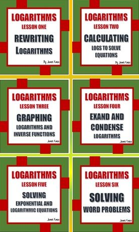 Logarithms The Complete Unit Math Stuff Pinterest Worksheets