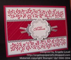 Christmas in July is popular and with a little imagination you can turn your everyday cardstock