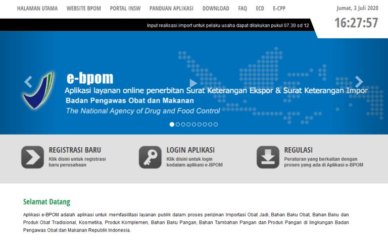 Arti E Bpom Proses Pendaftaran Dan Pentingnya Izin Bpom Hukum Line Aplikasi Pelayan Publik