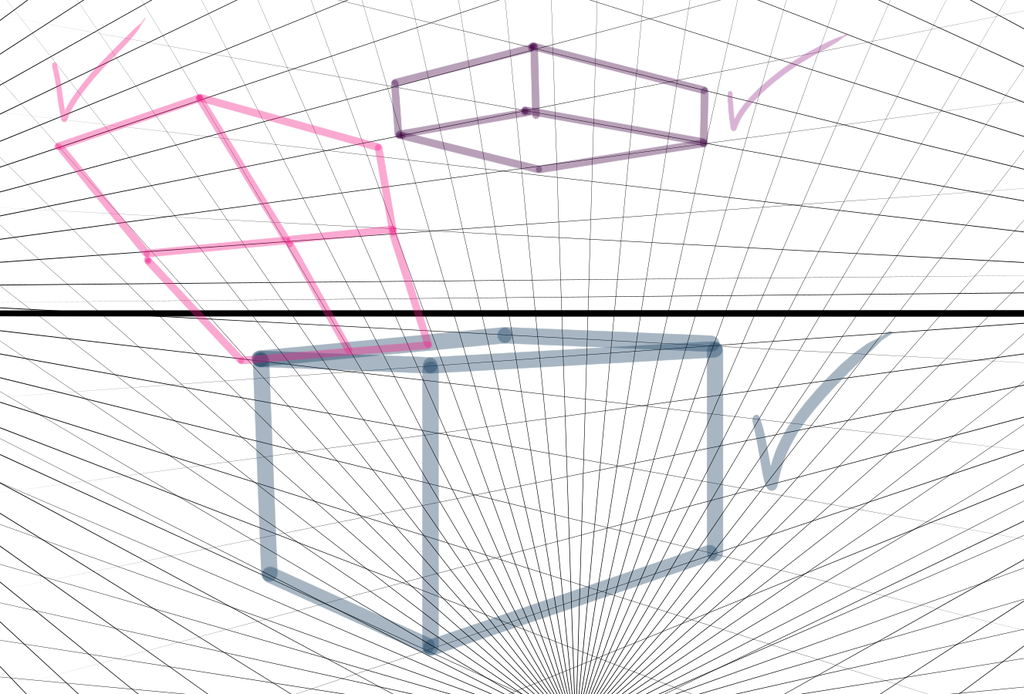 How To Make An Easy Perspective Grid On Photoshop By Iingo On Photoshop Perspective Grid