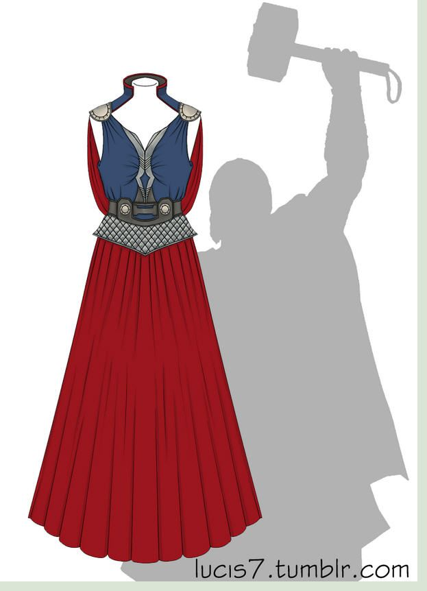 Dress Inspired By Thor