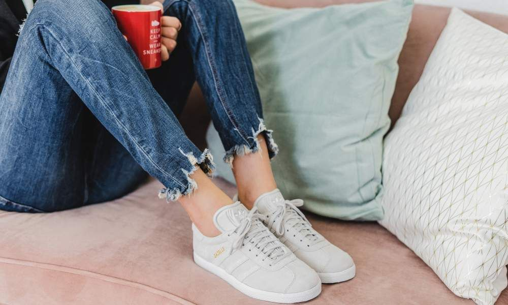 adidas Gazelle W (grau weiß) CQ2188 | Shoes in 2019