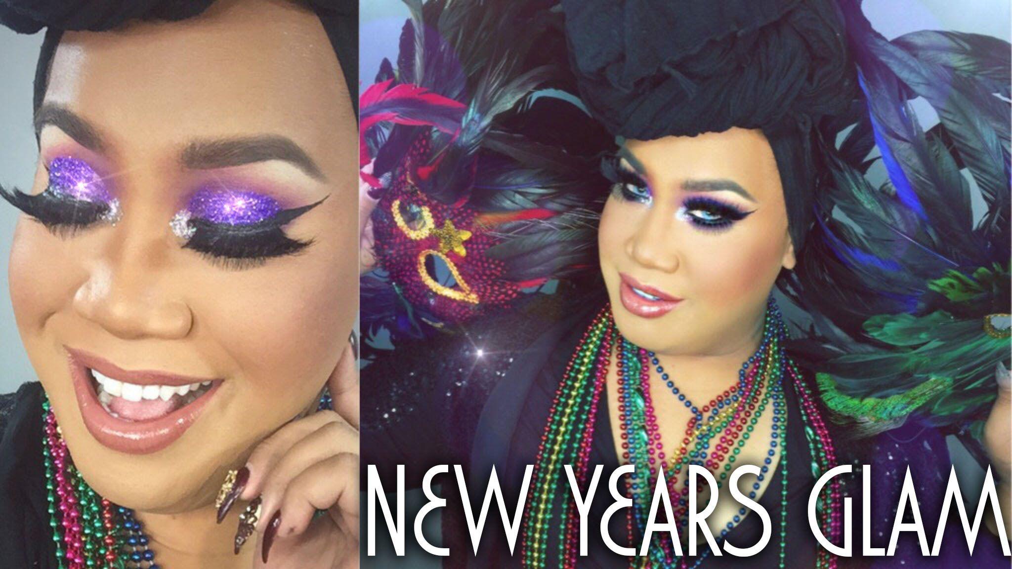 New Years Eve Glam Makeup Tutorial ★ PatrickStarrr