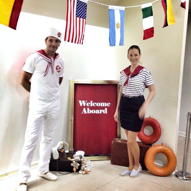 Sailing Time! Ambientando para Cruz Blanca junto con nuestros amigos de La Boquería @williepunk