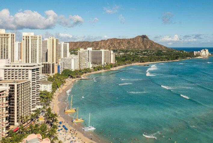 Roundtrip-Flight-San-Francisco-California-Honolulu-Hawaii-cheap-airfare-nonstop-Green-Vacation-Deals