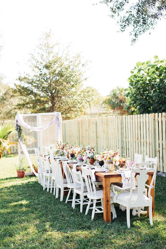 Boho Bridal Shower Brunch Backyard Bridal Showers Wedding