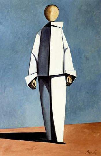 Pierrot (c. 1960) by Duilio Barnabe (1914-1961) via mid-centuria