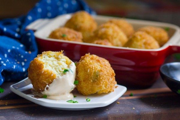 Deep Fried Matzo Balls