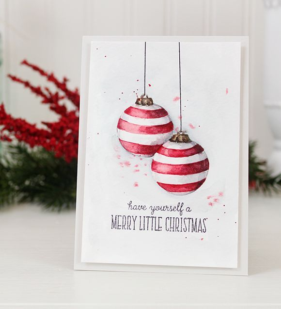 Hello!  I have a couple of fun things to share with you today.   A video and a giveaway!   Holiday Card Workshop 2014  Making a card list an...
