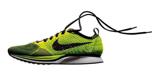 30a60e704634 ... Nike Flyknit Racer running shoe. More technology than will really help  me