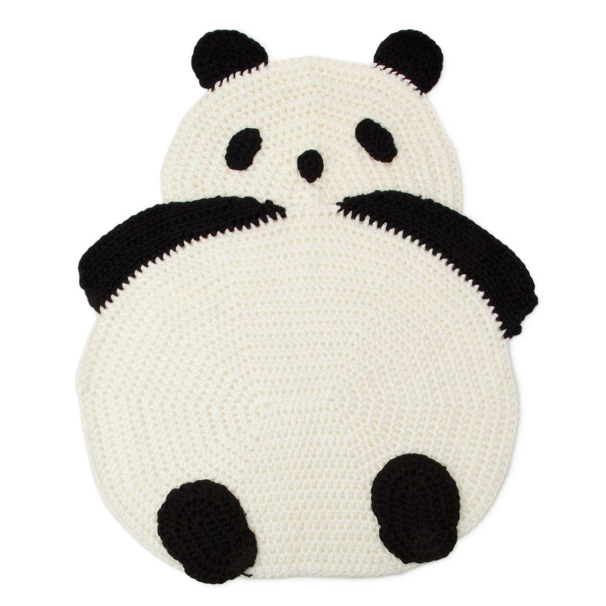 Panda Rug Crochet Panda Panda And Crochet