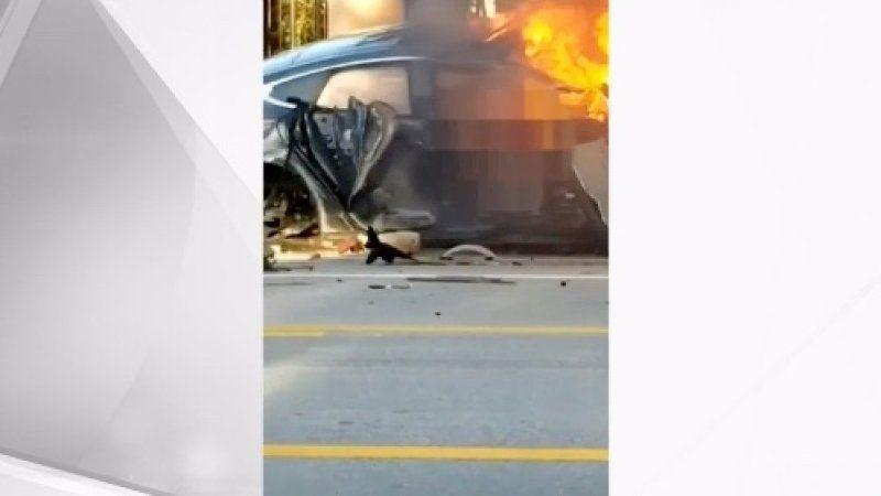 2 Florida Teens Die 1 Injured In Tesla Model S Crash Tesla Tesla Car Tesla Model S