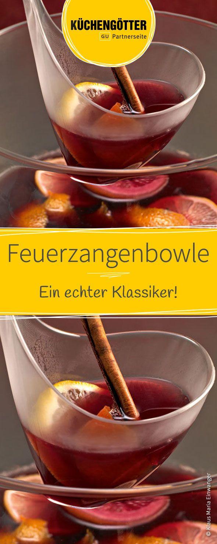 Feuerzangenbowle | Rezept | Heiße Wintergetränke - Punsch